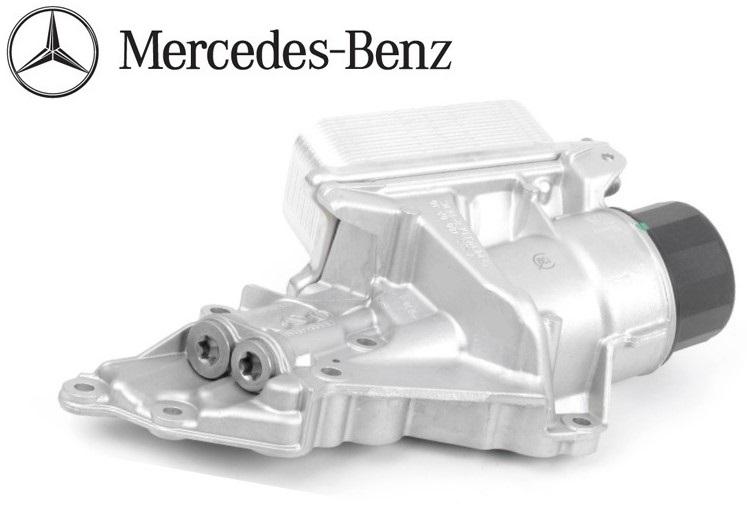 【代引き出荷可能!】純正品 エンジン オイルフィルターハウジング/オイルクーラーフィルター新品/ベンツ W211 W212 W207 W203 W204 (272-180-0510/272-180-0410)