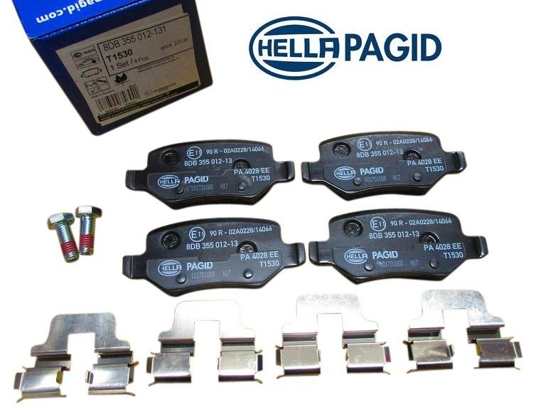 【代引き出荷可能!】Pagid製 フロント ブレーキパット ディスクパット/ベンツ W168 W169 W245 (1694201720/8DB355012131)