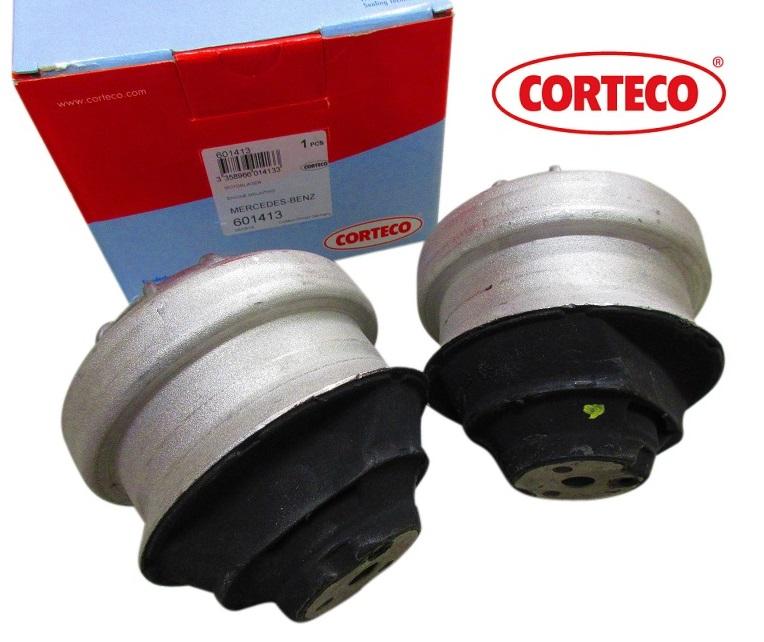 【送料無料/代引き出荷可能】CORTECO製 フロント エンジンマウント (2個) ベンツ W124 Eクラス W201 190クラス (1242401917)x2