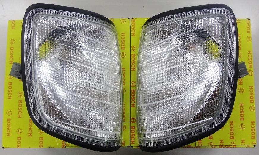 W124 Eクラス/ミディアム ホワイト ウインカーランプ/コーナーウィンカー左右セット (1248260743/1248260843)