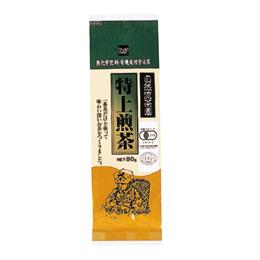 有機栽培 特上煎茶 80g×10個セット【10個買うと1個おまけ付・計11個】【健康フーズ】【05P03Dec16】