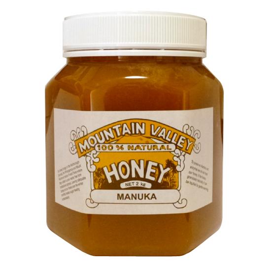 無添加蜂蜜 マウンテンバレー マヌーカ蜂蜜 2kg【あぱかばぁる】【05P03Dec16】
