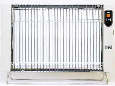 遠赤外線輻射式セラミックヒーター サンラメラ 1201型パワフル暖房1200W型【smtb-T】【05P03Dec16】