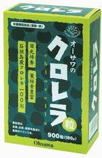 オーサワのクロレラ粒(石垣島産) (200mg×900粒)×5個買うと1個おまけ!!《送料無料》【05P03Dec16】
