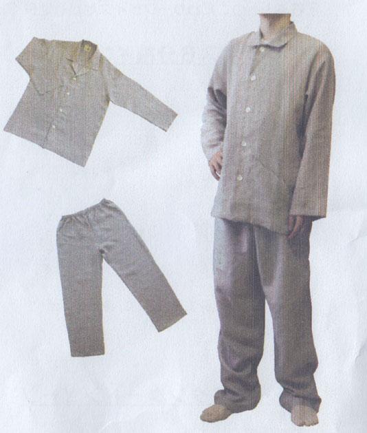 sarari・リネンパジャマ(長袖)男女共用/Lサイズ【05P03Dec16】