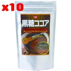 黒糖ココア 300g×10個セット【健康フーズ】【05P03Dec16】