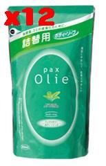 パックス オリーボディーソープ詰替 500ml×12個セット【太陽油脂】【05P03Dec16】