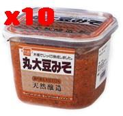 丸大豆みそ(粒)《国内産丸大豆使用》800g×10個セット【10個買うと1個おまけ付·計11個】【健康フーズ】【05P03Dec16】