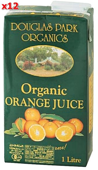 オーガニックオレンジジュース 1L ×12本セット【送料無料・九州、北海道、沖縄を除く】【マクロビオティック・ムソー】【05P03Dec16】