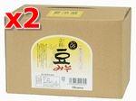 有機立科豆みそ 3.6kg箱(徳用)×2箱セット【マクロビオティック・オーサワジャパン】【05P03Dec16】
