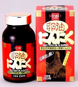 【健康フーズ】 卵油にんにく 250粒×10個セット《送料無料》【05P03Dec16】