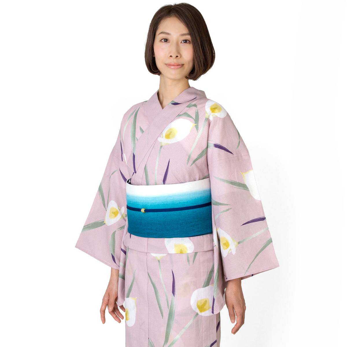 くるり 浴衣【カラー】ローズミスト