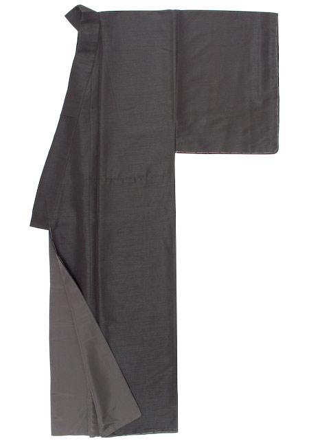メンズ 着物 ASOBI BLACK | 男性用 男 男着物 袷着物 紬 洗える カジュアル 黒 ブラック