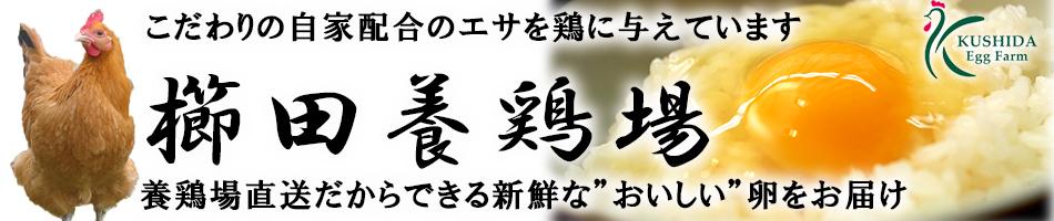 櫛田養鶏場 楽天市場店:エサに一番こだわる養鶏場 新鮮・濃厚・安全・おいしい!櫛田養鶏場の卵