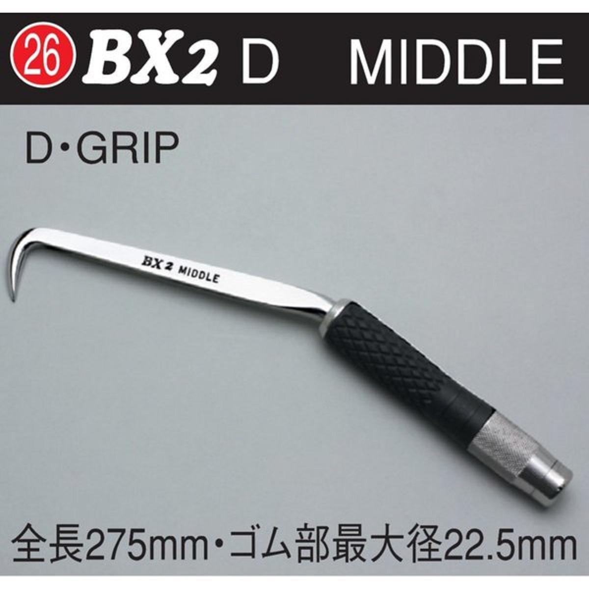 MIKI BX 2 D ハッカー ミドル D グリップ ブラック 黒 鉄筋用作業工具 結束線 ブランド ミキ 三貴
