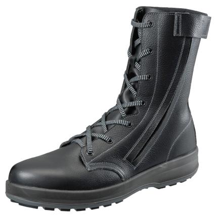 足首部分が屈折しやすいデザイン 安全靴 シモン 安全シューズ WS 33 2020秋冬新作 C付き JIS 8101 S種 溶接用 ハイカット ワークブーツ 牛革 ワークシューズ SX ワイド 溶接 黒 お得クーポン発行中 セーフティシューズ 先芯 劣化しにくい 現場 ブラック 作業靴 セーフティーシューズ 作業 耐滑 樹脂 3層