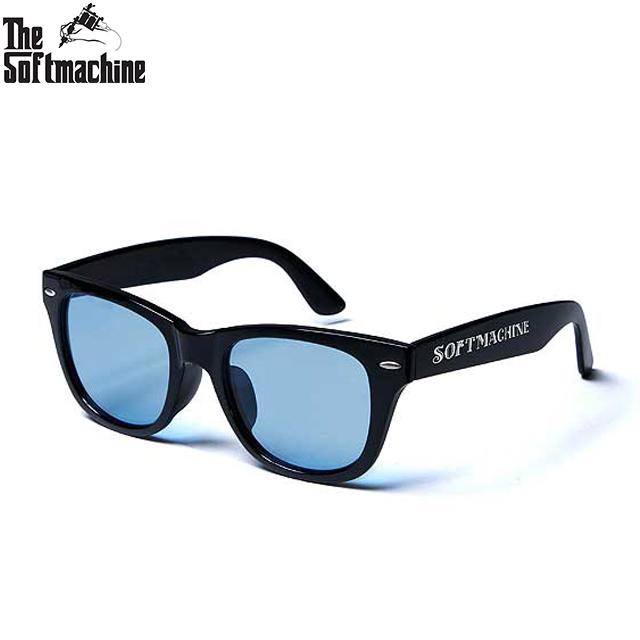 SOFTMACHINE OAKLAND GLASS BLACK 安い 激安 プチプラ 高品質 サングラス BLUE 5☆好評