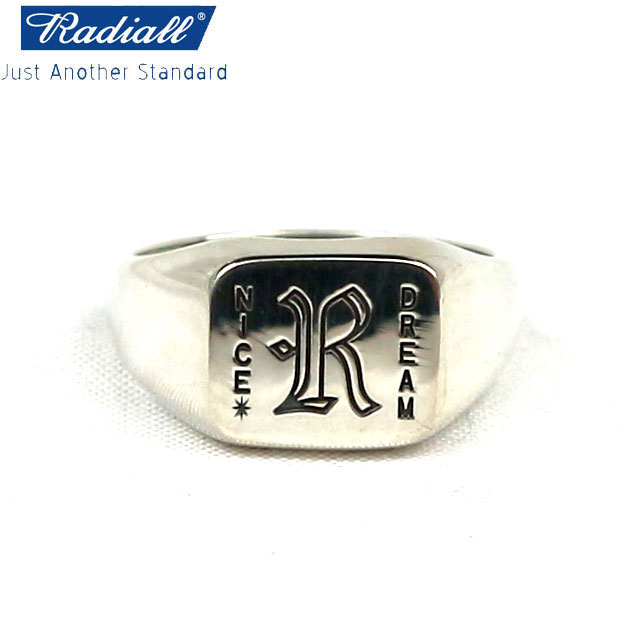 RADIALL ラディアル NICE DREAM RING SILVER