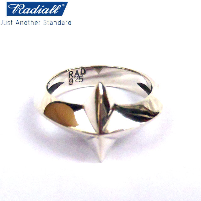 RADIALL ラディアル PONTIAC RING SILVER