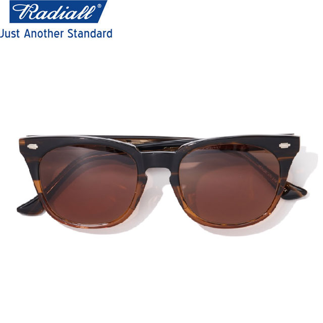 RADIALL ラディアル FIFTY NINE SUNGLASSES サングラス BROWNxBROWN