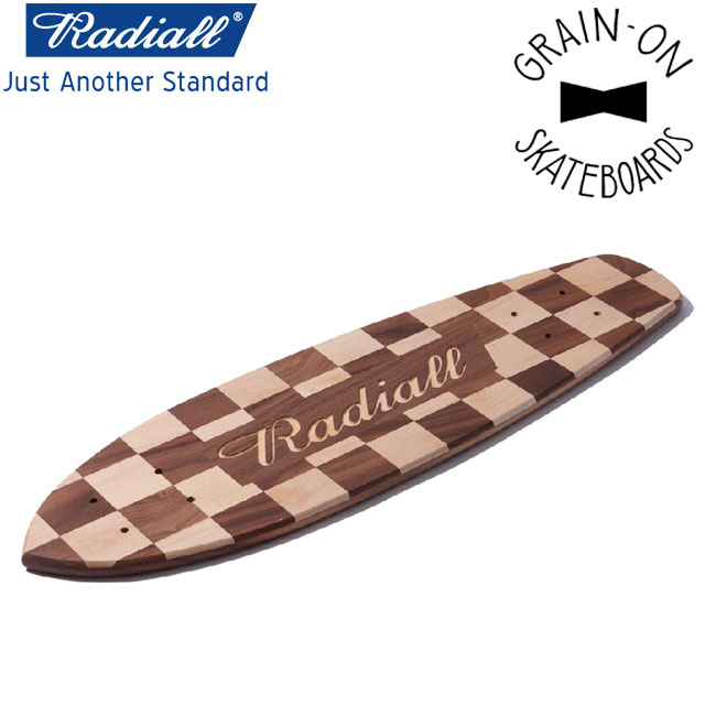 RADIALL ラディアル TEN SECONDS - WOOD SKATEBOARDS スケートボード
