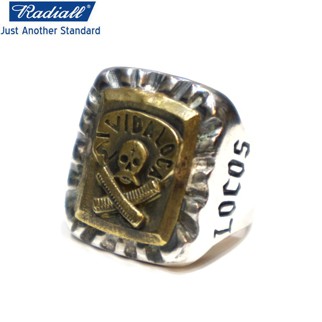 RADIALL ラディアル PANCHOS SILVER925 RING