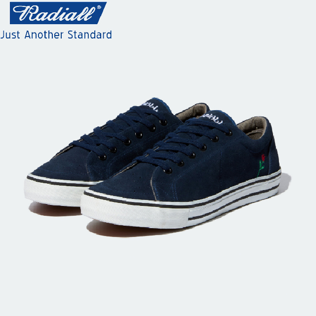 RADIALL ラディアル CONQUISTA - LOW TOP SNEAKER スニーカー NAVY