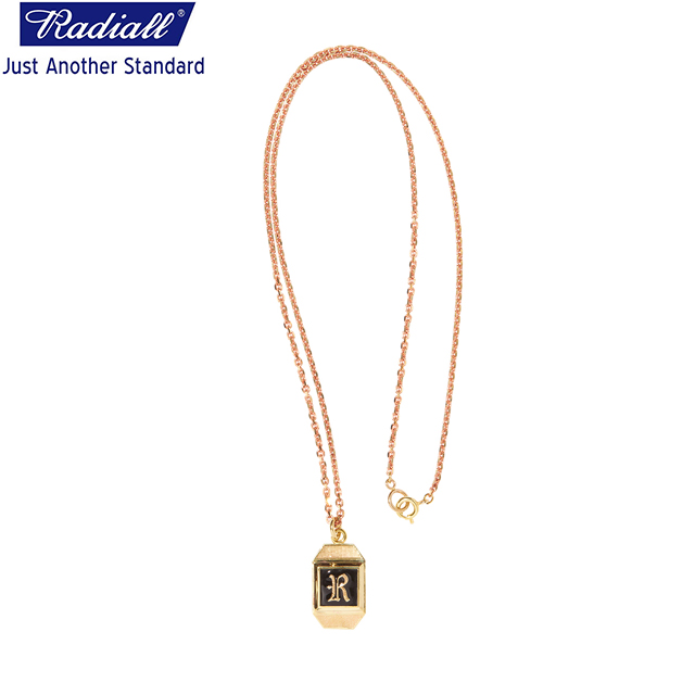 RADIALL ラディアル SYMBOLIZE - NECKLACE ネックレス BRASS