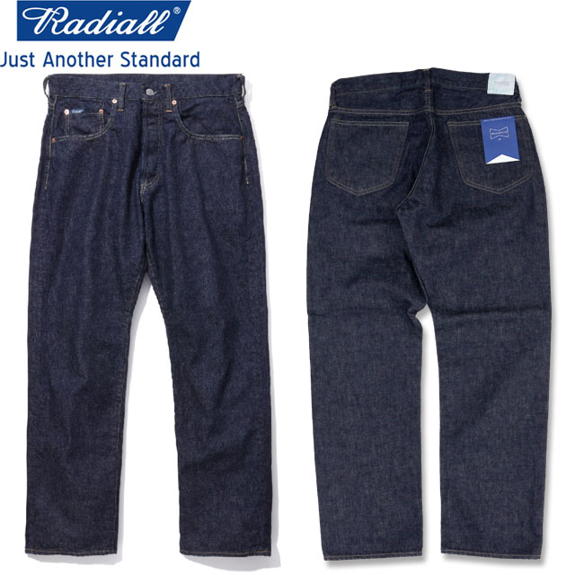 RADIALL ラディアル KUSTOM 350B -STRAIGHT FIT- DENIM PANTS デニムパンツ DEEP INDIGO