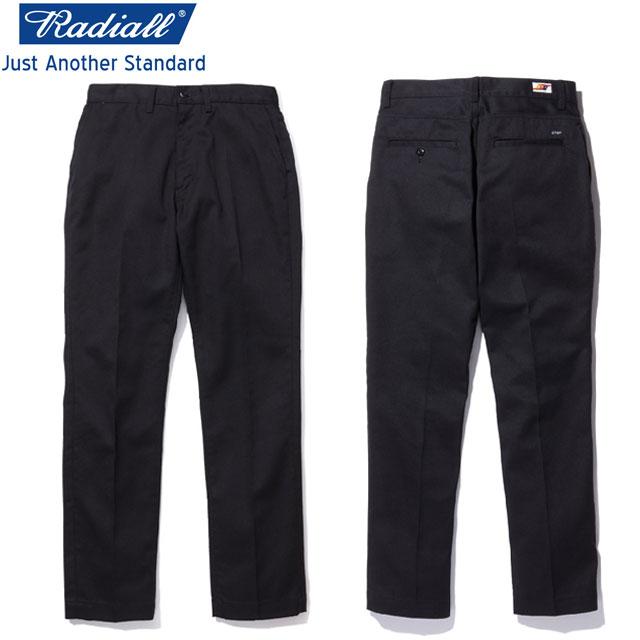 RADIALL ラディアル CVS WORK PANTS-SLIM ワークパンツ BLACK