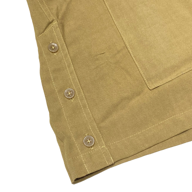 定価19580円 30%OFF!! / RADIALL ラディアル FLAMINGO - OPEN COLLARED SHIRT S/S 半袖シャツ BLACK
