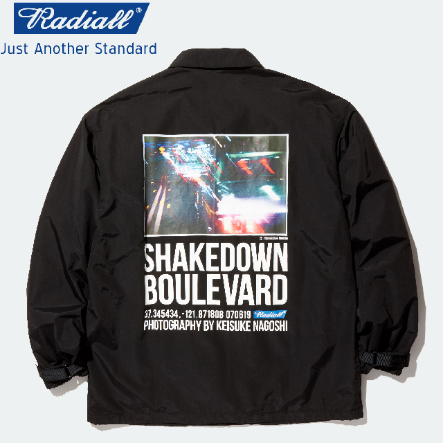 RADIALL ラディアル BOULEVARD - WINDBREAKER JACKET ウィンドブレーカー BLACK