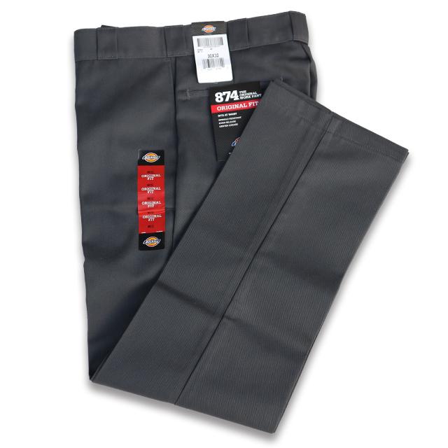 DICKIES 874 2020 新作 正規品スーパーSALE×店内全品キャンペーン WORK PANTS GREY CHARCOAL ワ-クパンツ ディッキーズ