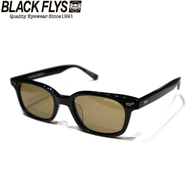BLACK FLYS ブラックフライズ FLY SLAMMER BLACK/LIGHT BROWN