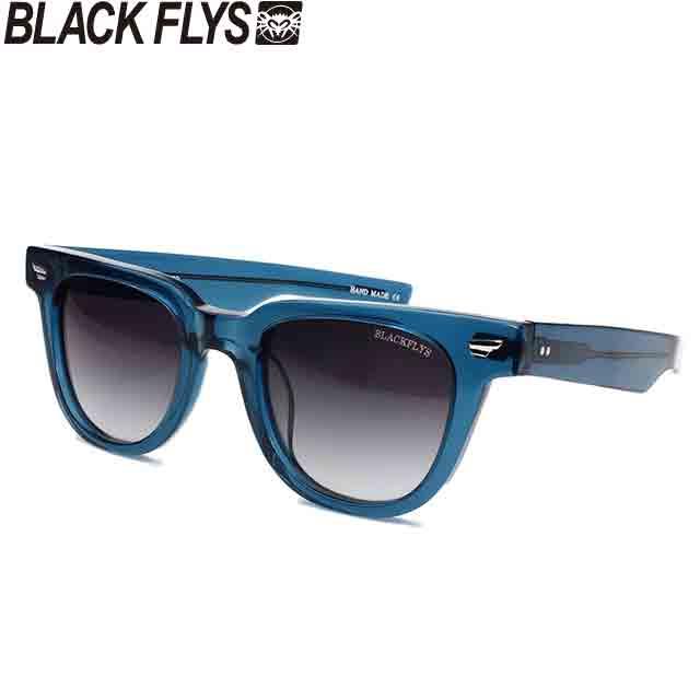 BLACK FLYS ブラックフライズ FLY WHEELER CLEAR BLUE/GREY GRADATION POLARIZED (偏光レンズ)