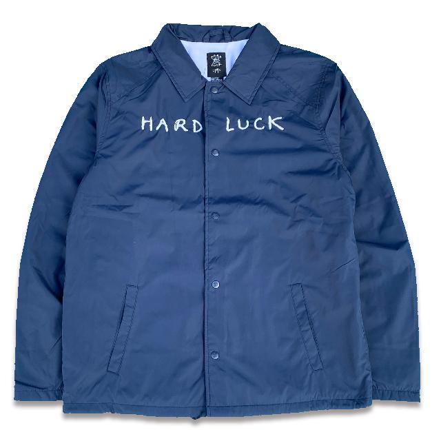 HARD LUCK ハードラック MARK WERD COACHES JACKET コーチジャケット NAVY