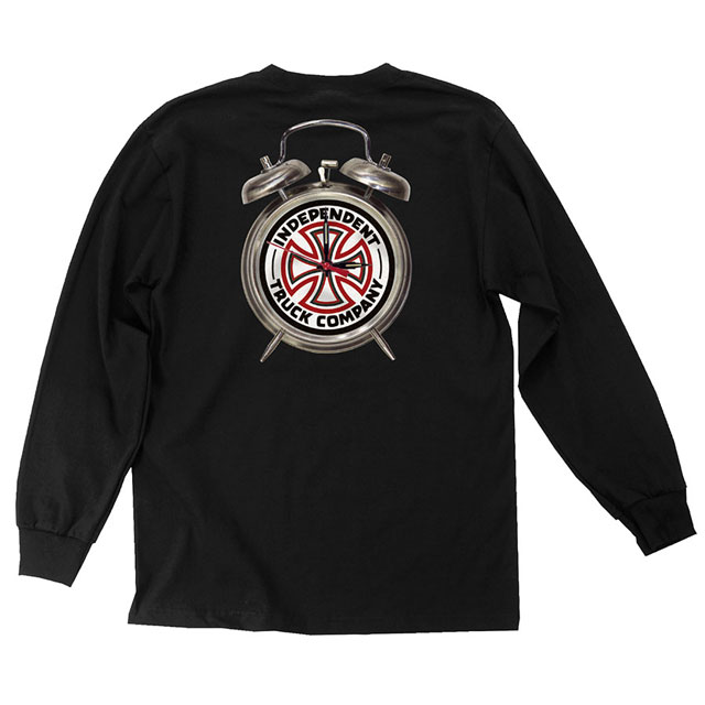 INDEPENDENT インディペンデント x THRASHER スラッシャー TTG L/S Tシャツ BLACK