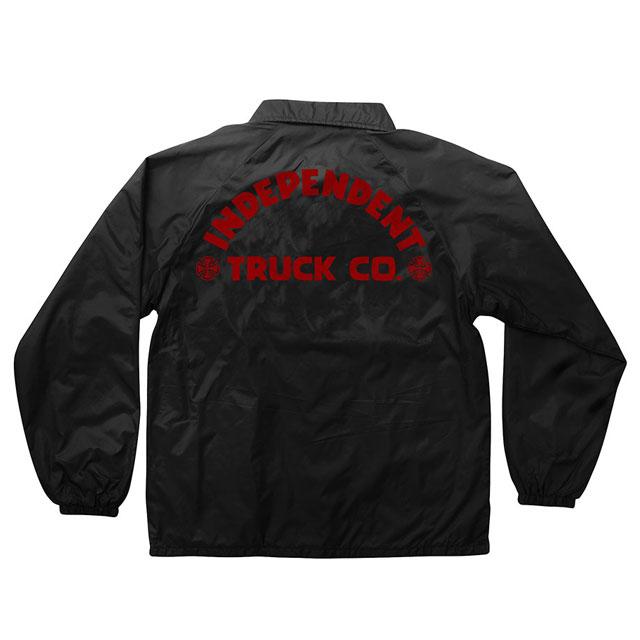 INDEPENDENT インディペンデント ITC BOLD COACH JACKET コーチジャケット BLACK