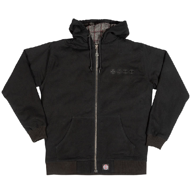定価17600円 20%OFF/INDEPENDENT インディペンデント ROAD WORK L/S JACKET BLACK