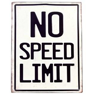 楽天市場 ya アメリカ看板 266064 no speed limit vintage lookサイン