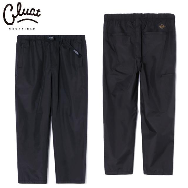 CLUCT(クラクト) #04091 CLT-N.E PT EAZY PANTS イージーパンツ BLACK