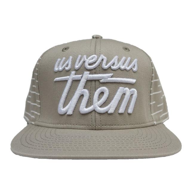 New Us Versus Them The Magnum Cap in Black Snapback Cap Hat