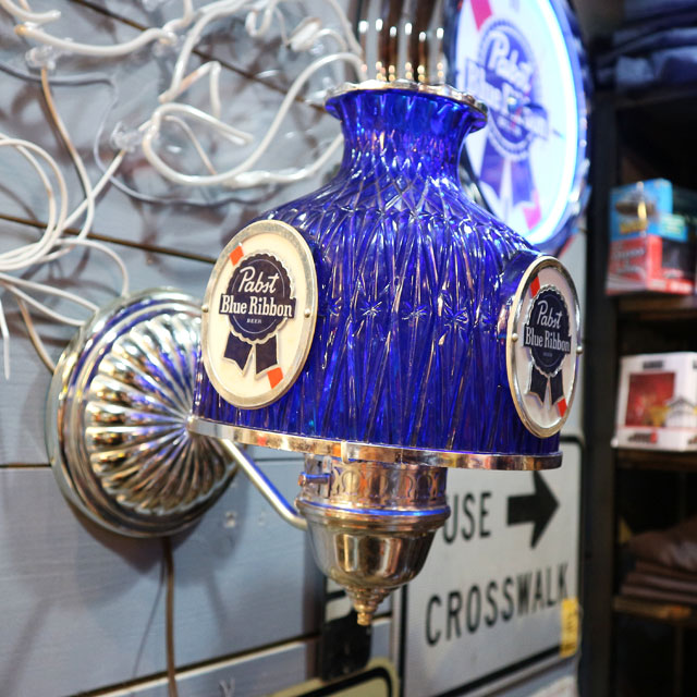 AN227 USED(中古) VINTAGE ANTIQUE PABST BEER LAMP