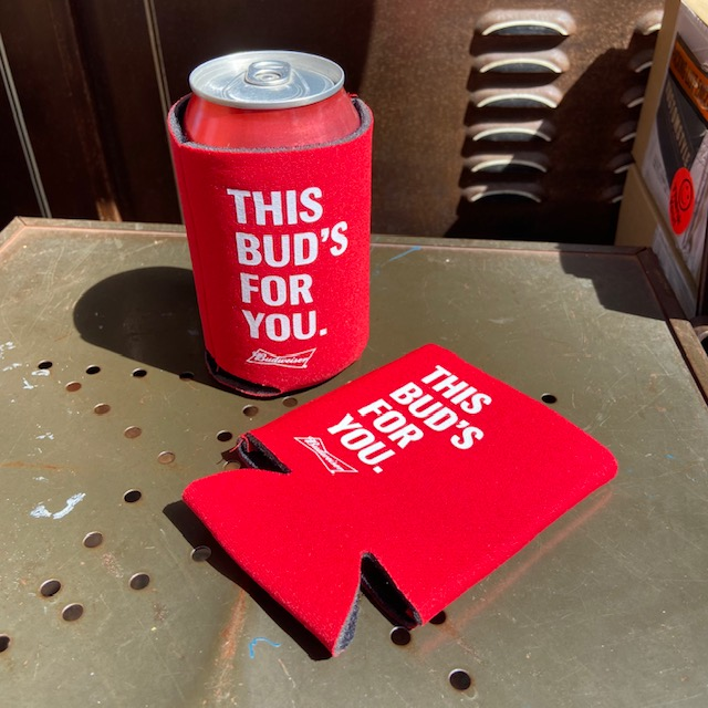 <title>BUDWEISER 期間限定特別価格 BEER CAN COOZIE</title>