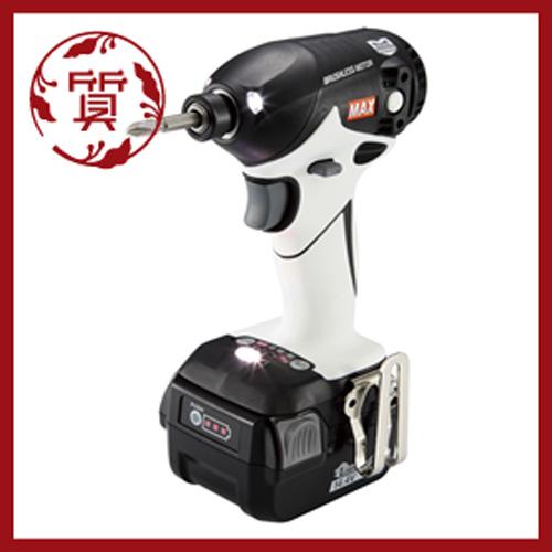 【楠本質店/元住吉】MAX マックス PJ-ID144W-B2C/40A 充電式インパクトドライバ PJ91075 ホワイト