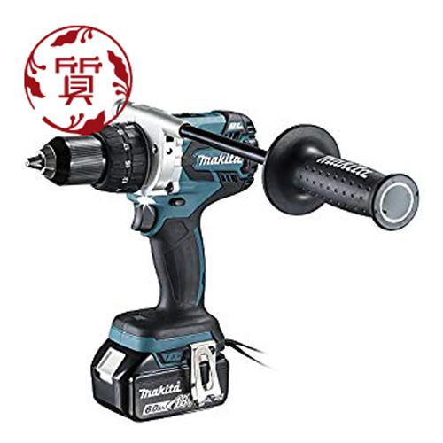 【楠本質店/元住吉】マキタ 18V6.0Ah充電式ドライバドリル DF481DRGX セット品(電池2個・充電器・ケース付)