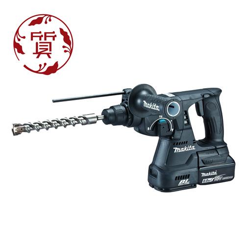 【楠本質店/元住吉】Makita マキタ HR244DRGXB 24mm 充電式ハンマドリル 18V 6.0Ah ブラック ※ビット別売り