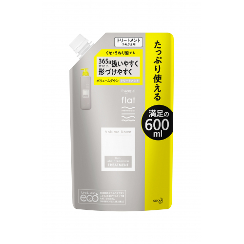 通販 激安◆ flatボリュームダウンTR替え600ml 店