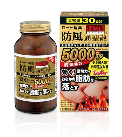 【第2類医薬品】新ロート防風通聖散錠満量360錠(30日分)