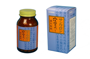 第2類医薬品 サンワロン 八味地黄丸 トレンド 270錠 三和生薬 八味丸 推奨 はちみじおうがん